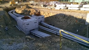 Wheeler Road Project Burlington MA electrical engineering