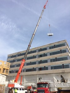 Harbor Place HVAC work